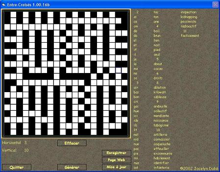 Free crossword puzzle maker software download